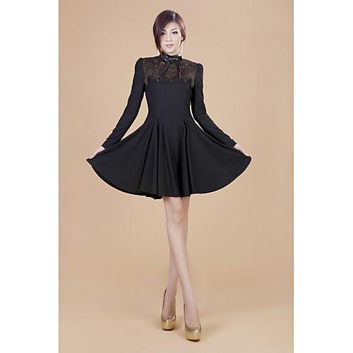 ZHI складки YUAN кружево качели платье (больше цветов) Lightinthebox 3435.000