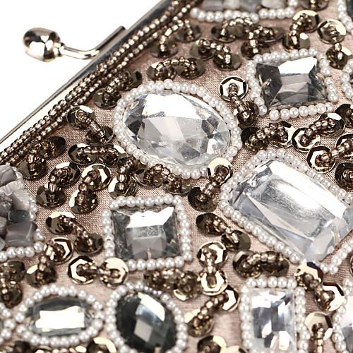 Уникальная акриловая атласная с Вечер кристаллы сумки / муфты (другие цвета) Lightinthebox