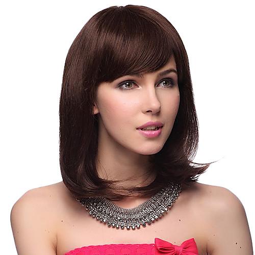 Парик из 100% натурального прямого волоса средней длины (2 цвета) Lightinthebox 2629.000