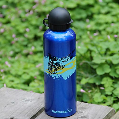 ROSWHEEL 750ML алюминиевого сплава Открытый бутылка спорта с пылезащитный чехол 52136 Lightinthebox 429.000