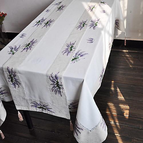 страны фиолетовым цветочным бегунов столовое белье Lightinthebox 429.000