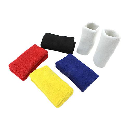 Напульсник из смеси полиэстера и хлопка с резиновой вставкой, 1 шт, 14,5 х 8 см. Цвета в ассортименте Lightinthebox
