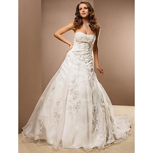 EFFERDANE - Платье свадебное из органзы Lightinthebox 8572.000