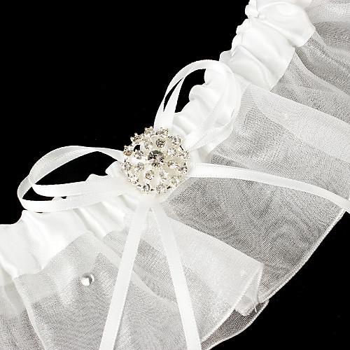 Атласные и тюль с подвязками Свадебный Bowknot Lightinthebox 162.000