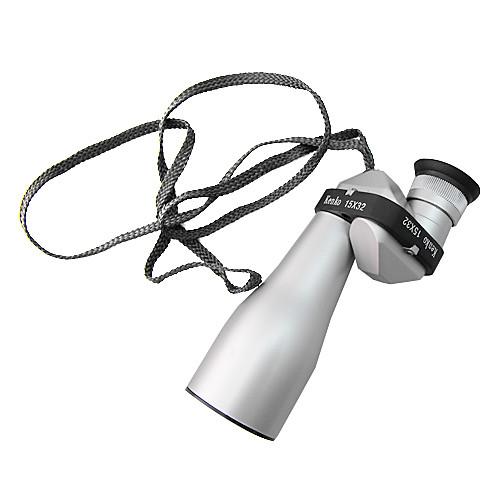 15  32 Портативный телескоп алюминиевого сплава с мешком / ремешок / Lens Ткань Lightinthebox 584.000