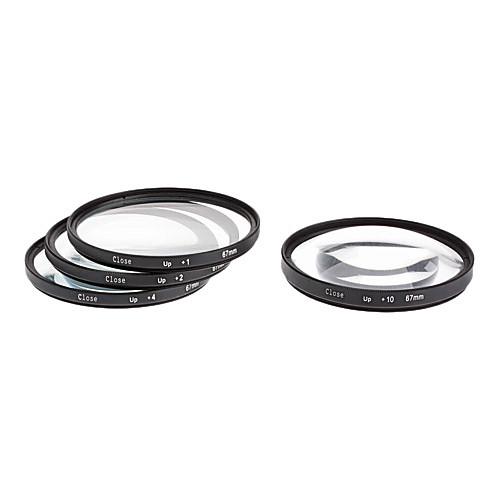 4шт 67mm Close-Up Комплект фильтров для камеры с фильтром Bag (1, 2, 4, 10) Lightinthebox 986.000