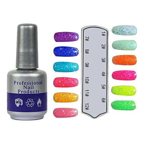 UV Цвет Сладкий Builder Gel Лак для ногтей № 205-216 (10 мл, 1PCS, разных цветов) Lightinthebox 300.000