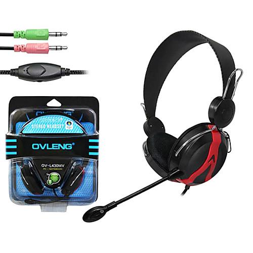 OVLENG За-наушники для компьютера с микрофоном OV-L430MV Lightinthebox 300.000