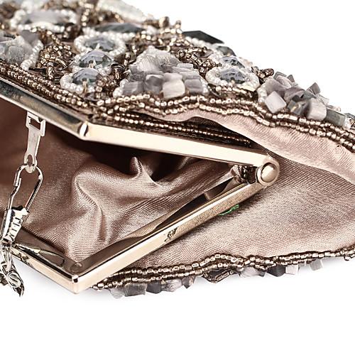 Уникальная акриловая атласная с Вечер кристаллы сумки / муфты (другие цвета)
