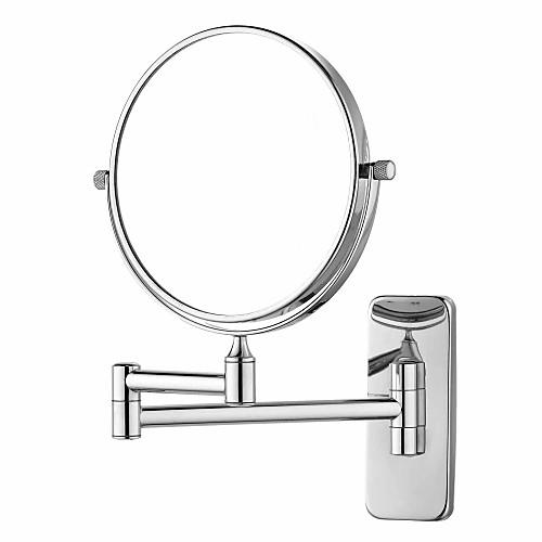 Хромированная отделка 180 градусов вращая Retangle настенное крепление вращающуюся на 360 градусов серебра косметическое зеркало (L) Lightinthebox 1718.000