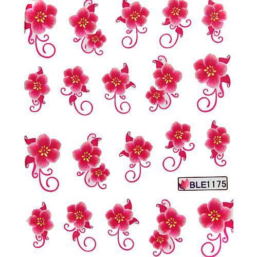5PCS воды передачи печати наклейки ногтей № 21 Multi-Pattern Lightinthebox 214.000
