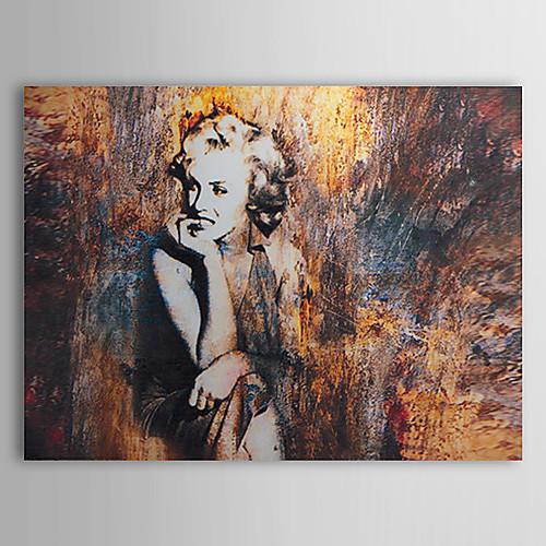 Ручная роспись маслом людей Мэрилин Монро 1323-PE248 Lightinthebox 4296.000