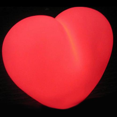 Sweet Heart Shaped Красочный светодиодные ночь свет (3xag13) Lightinthebox 257.000