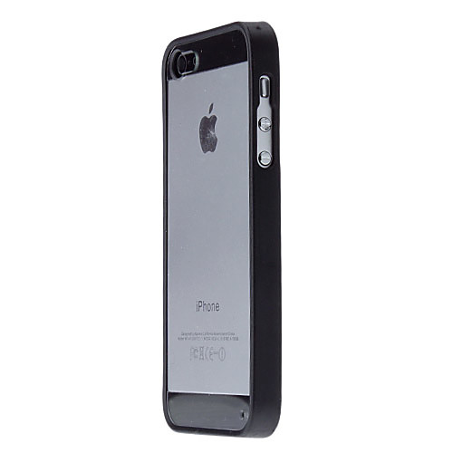 Прозрачный жесткий футляр с цветным бампером для iphone 5/5s (цвета в ассортименте) Lightinthebox 131.000