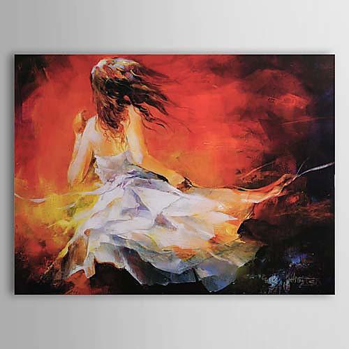 Ручная роспись маслом людей 1303-PE0218 Lightinthebox 3007.000