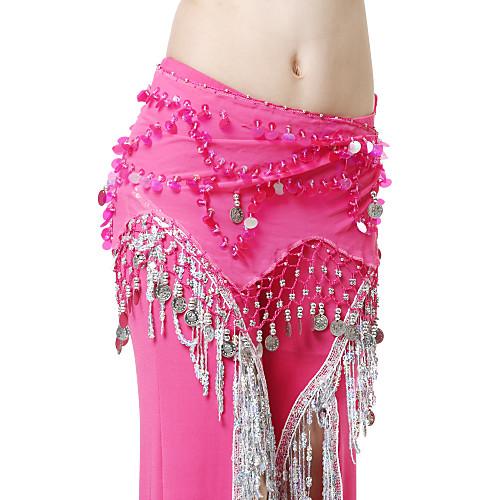 Производительность танцевальная одежда шифон с монетами танец живота пояса для дам Lightinthebox 317.000