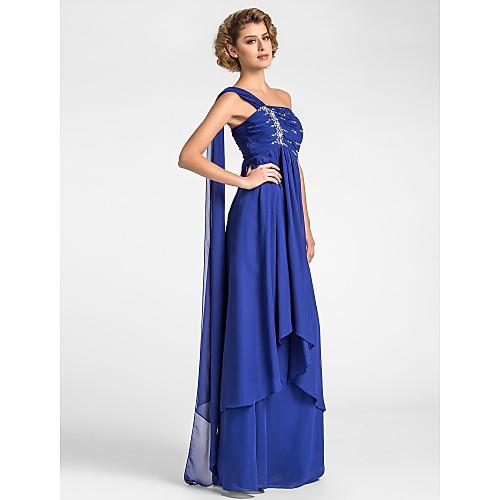 Платье вечернее из шифона для дам, вдохновлено Тиа Каррере на церемонии Грэмми Lightinthebox