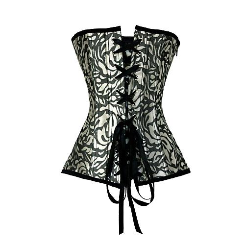 Очаровательное платье без бретелек полиэстер боковой молнии Закрытие Корсеты Shapewear Lightinthebox 979.000