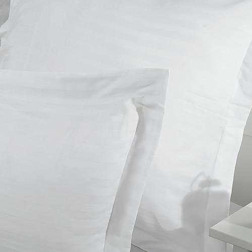 Набор хлопкового постельного белья из 3 предметов с атласными полосами Lightinthebox 2148.000