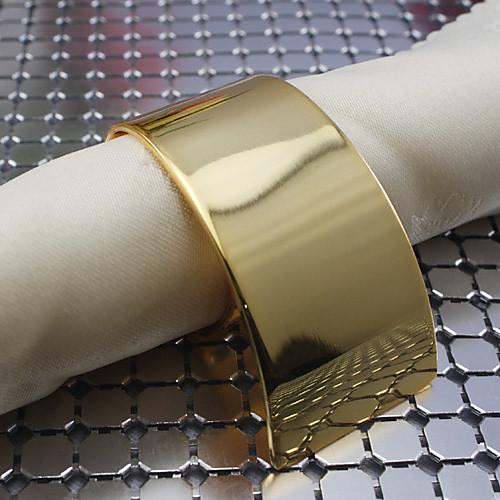 набор из 4 штук металлического железа спираль кольца для салфеток Lightinthebox 837.000