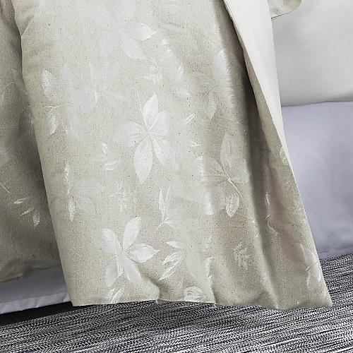 Набор постельного белья из 3 предметов с жаккардовым узором листьев Lightinthebox 2148.000