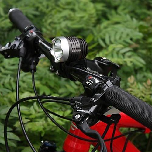 Мультифункциональный светодиодный водонепроницаемый энергосберегающий велосипедный фонарь  XML-T6 SXO  (1200LM) Lightinthebox 2148.000
