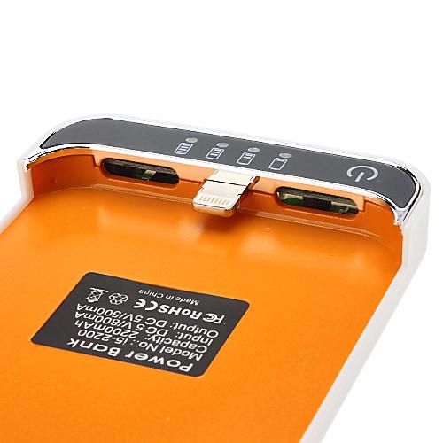 Чехол с внешней батареей для iPhone 5/5S (2200mAh) Lightinthebox 1115.000