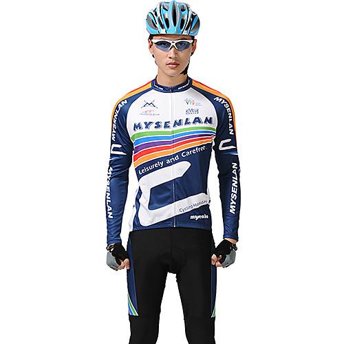 Костюм MYSENLAN велосипедный из дышащего эластичного материала с длинным рукавом Lightinthebox 2577.000