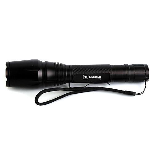 5 режимный светодиодный фонарик высококй мощности XML-T6 (1000LM,2x18650,без батареи и зарядного устройства) Lightinthebox 1245.000