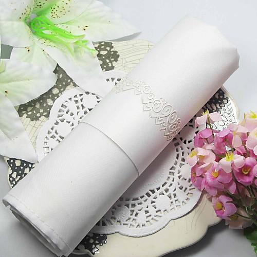 Вырез Pearl бумажную салфетку кольцо (набор из 12) Lightinthebox 233.000