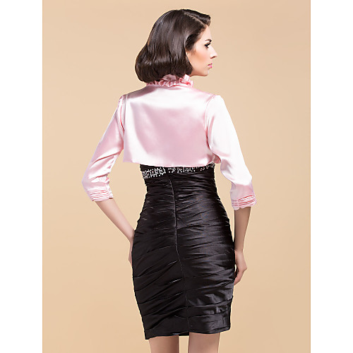 3/4-length рукавом атласные / органзы особых поводов куртка / Свадебные Wrap (другие цвета) Lightinthebox 825.000