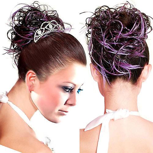 Высший сорт синтетического вьющихся волос Pieces несколько цветов Lightinthebox 558.000