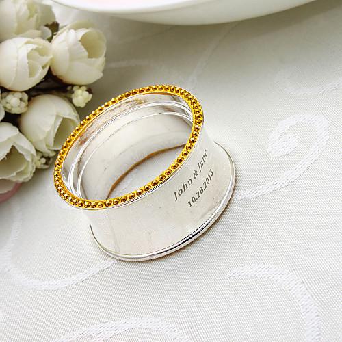 Персонализированные высокого качества Посеребренная салфетки кольца Lightinthebox 260.000