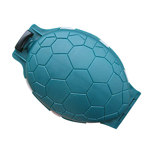 Мини зеленый Ellipse двухслойный Lure Tackle Box (11  8  3см) Lightinthebox 181.000