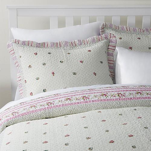 3-х частей Изабель украшен цветочным хлопка королева одеяло набор Lightinthebox 2706.000