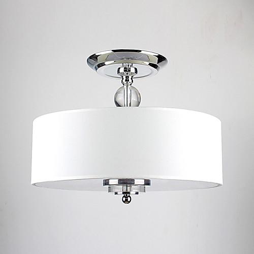 Современная люстра на 3 лампы с тканевым абажуром (60 Вт) Lightinthebox 5585.000