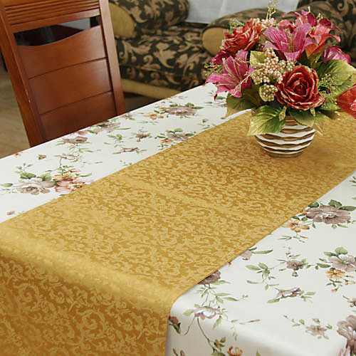 Классический полиэстер шт Краска жаккард цветочные Бегуны таблице Lightinthebox 987.000