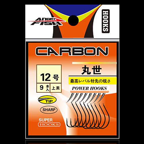 Углеродистая сталь Рыболовный крючок с правой изогнутые точка Lightinthebox 134.000