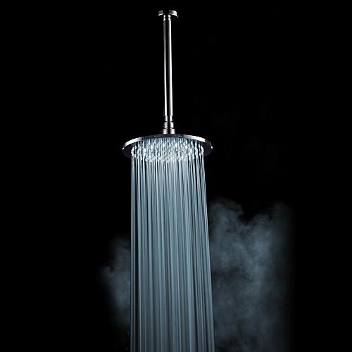 Хромированная отделка латунь 8-дюймовый светодиодный Белый круглый душем потолочные Lightinthebox 3007.000