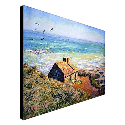 Известные картины маслом Costoms House, Утро Эффект Клода Моне Lightinthebox 3866.000