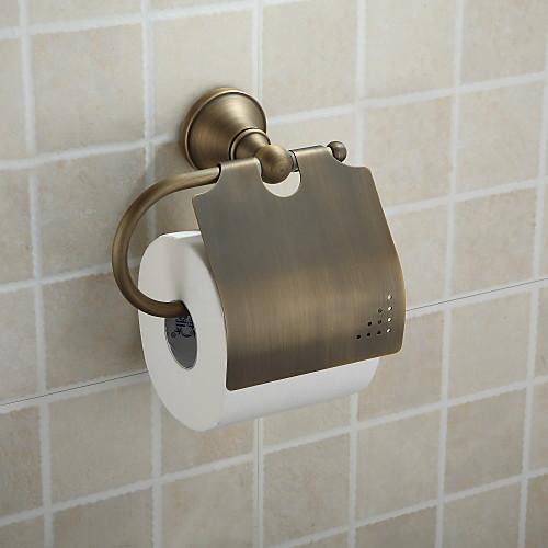 античная латунь настенный держатель рулона туалетной бумаги, аксессуары для ванной комнаты (1018-J-29-6) Lightinthebox 1073.000