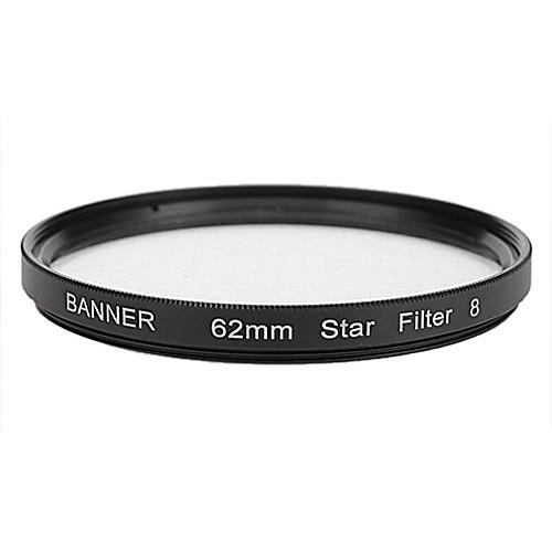 Баннер 8pt 62мм Звезда фильтр для Canon, Nikon, Sony и многое другое Lightinthebox 386.000