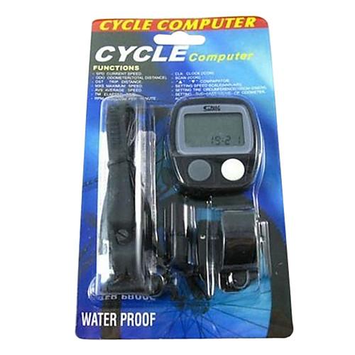 SUNDING Материал Пластик 14 Функции Водонепроницаемый компьютер Велоспорт SD-536 (черный) Lightinthebox 429.000