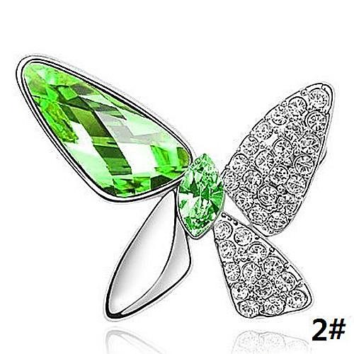 Anisomerous алмазного кристалла шипованных и брошь Lightinthebox 257.000