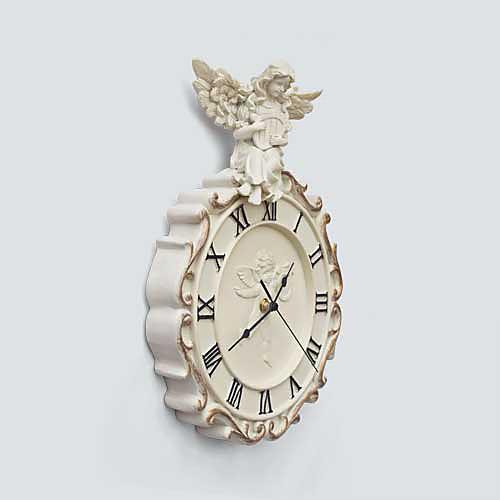Ангел тему тиснением Polyresin настенные часы Lightinthebox 2148.000