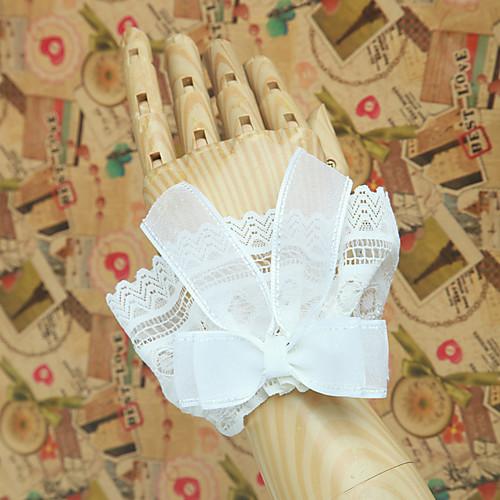 Handmade White Lace Ribbon классический Манжеты Лолита наручные Lightinthebox 429.000