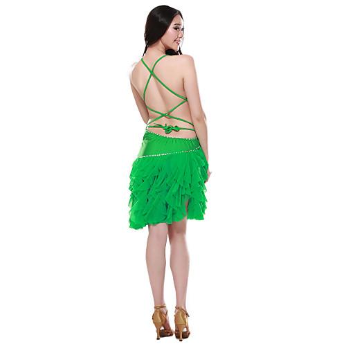Танцевальная одежда спандекс латинского танца платье для дам больше цветов Lightinthebox 2148.000