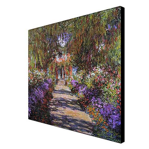 Известные картины маслом Путь в Gardenat Живерни Моне Клода Моне Lightinthebox 3007.000