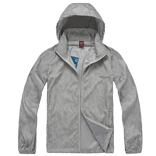 EAMKEVC унисекс ультрафиолетового устойчивы куртка ветрозащитный дышащий водонепроницаемый Lightinthebox 987.000