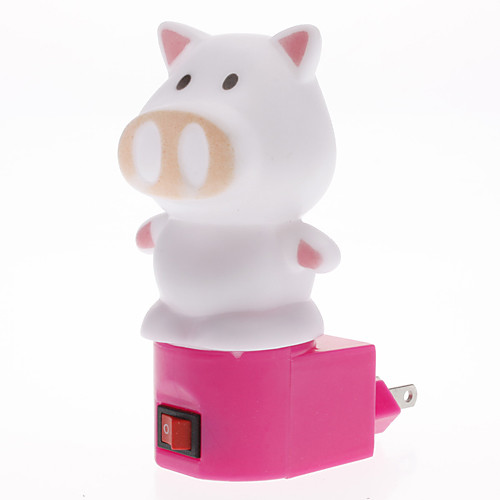 Лампа-ночник, светодиодная, в форме свинки Lightinthebox 171.000